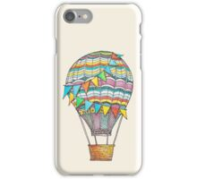 Colorful Air Balloon iPhone Case/Skin
