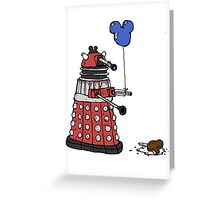 Sympathy of the Daleks Greeting Card