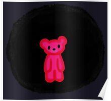 Anxiety Bear in the Void [Prototype] Poster