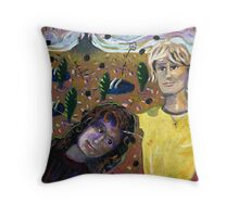 At the End of the Road Throw Pillow