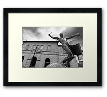 The Drummer Hall For Cornwall Truro Framed Print