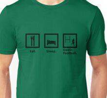Eat, Sleep, Gaelic Football Unisex T-Shirt