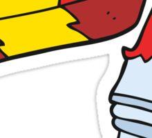 cartoon chewing gum Sticker