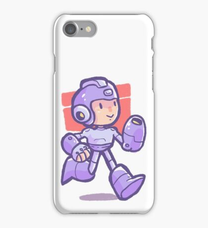 Megaman Strikes iPhone Case/Skin