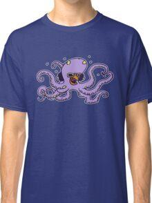 pieuvre poulpe octopus fun dj Classic T-Shirt