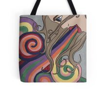 inside out and upside down Tote Bag