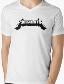 Metadata Mens V-Neck T-Shirt