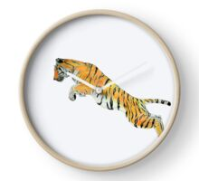 Save Tigers Clock