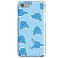 Yuri on Ice Makkachin (Blue) iPhone Case/Skin