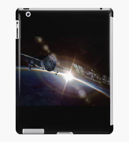 Orbital maneuver iPad Case/Skin