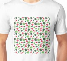 presents, red, green  Unisex T-Shirt