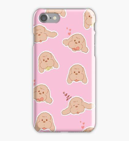 Yuri on Ice Makkachin (Light Pink) iPhone Case/Skin