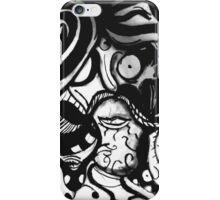 The Mustachioed Man  iPhone Case/Skin