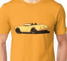 Yellow Porsche Unisex T-Shirt