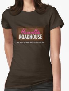 Harvelle's Roadhouse Womens Fitted T-Shirt