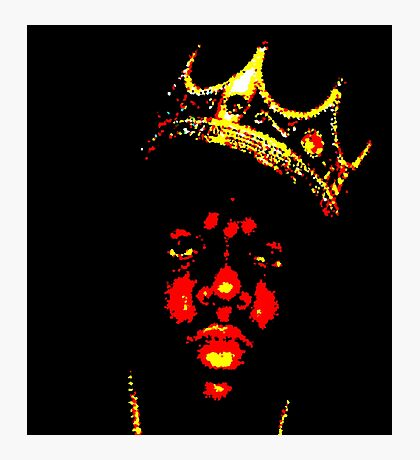 BIGGIE SMALLS (NOTORIOUS B.I.G) Photographic Print