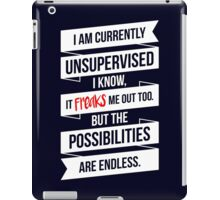 Funny Rebel iPad Case/Skin