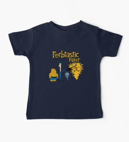 The Ferbtastic Four Baby Tee