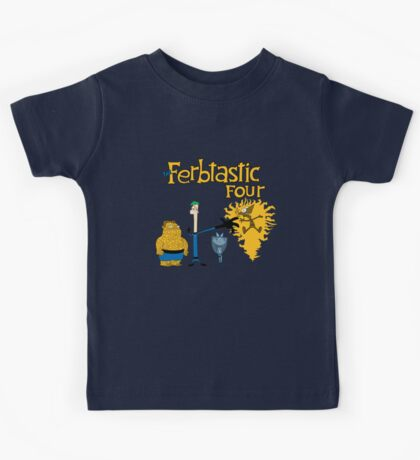 The Ferbtastic Four Kids Tee