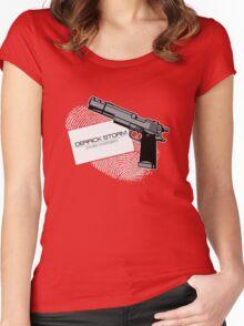 Derrick Storm Women's Fitted Scoop T-Shirt