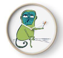 Monkey day Clock