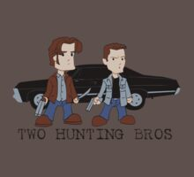 Two Hunting Bros by rexraygun