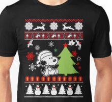 Snoopy  Happy Christmas  Unisex T-Shirt