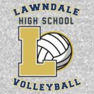 Lawndale HS Volleyball by rexraygun