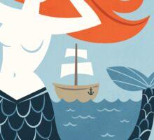 Hello Mermaid Sticker
