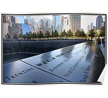 9/11 Memorial in NYC Poster