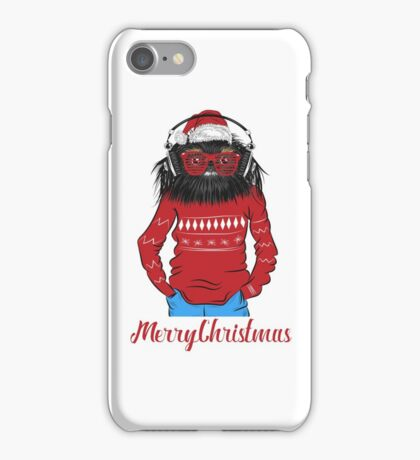 Christmas Dog iPhone Case/Skin