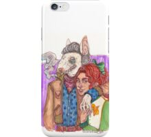 I'm with the leader of the pack iPhone Case/Skin