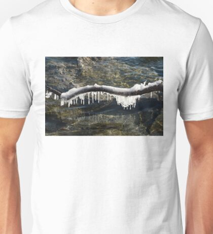 Nature Artistic Hand - Mesmerizing Shapes and Forms Reflected Unisex T-Shirt