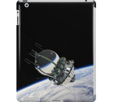The first spaceship at the orbit iPad Case/Skin