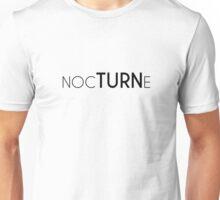 NOCTURNE Black Unisex T-Shirt