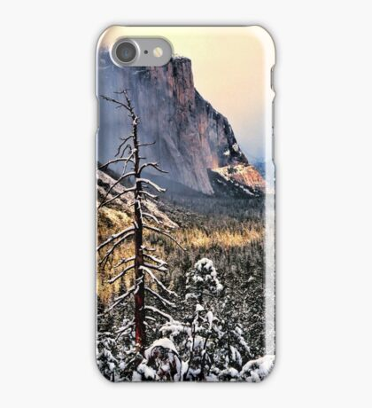 WINTER STORM,EL CAPITAN iPhone Case/Skin