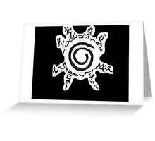 Naruto Kyuubi Seal Greeting Card