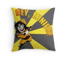 Hey, Minion! Throw Pillow