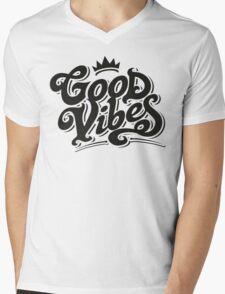 "GOOD VIBES ""CLASSY"" Mens V-Neck T-Shirt"