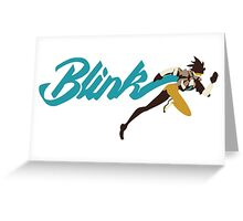 TRACER • Blink Greeting Card