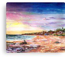 El Moro Crystal Cove Canvas Print