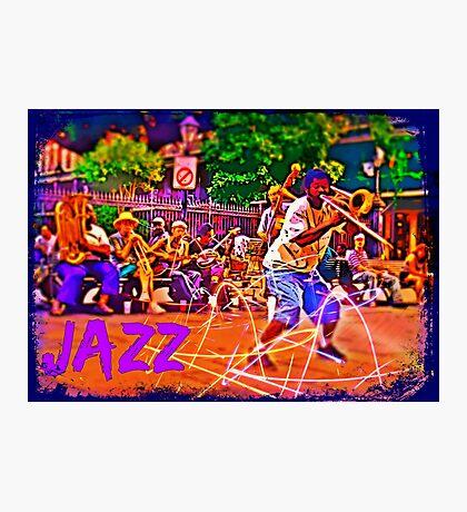 Jazz Band Photographic Print