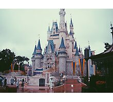 Walt Disney World - Castle Photographic Print