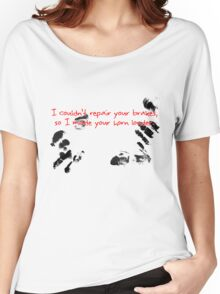 I couldn't repair your brakes, so I made your horn louder. Women's Relaxed Fit T-Shirt