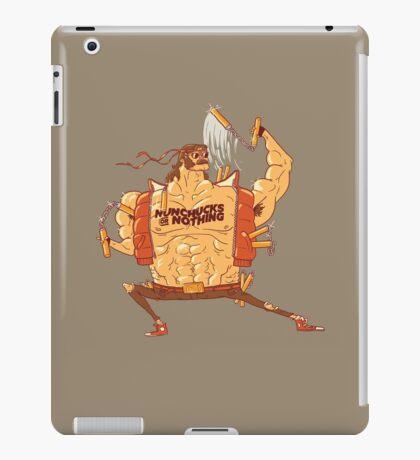Nunchucks or Nothing iPad Case/Skin
