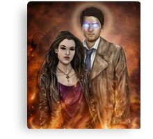 If I Cannot Move Heaven, I Will Raise Hell Canvas Print
