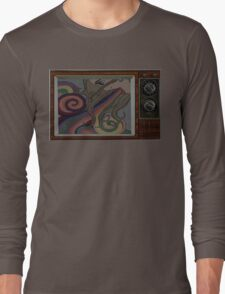 inside out and upside down Long Sleeve T-Shirt