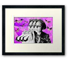 Bats & Books  Framed Print