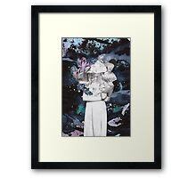 Scraps of Poetry 1 Framed Print