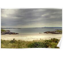 The Beach at Camusdarach Poster